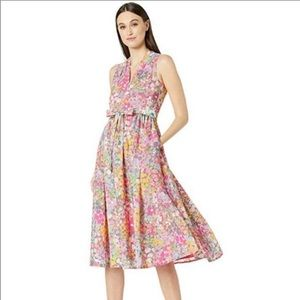 Kate Spade Floral Dots Burnout Dress